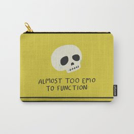 Almost Too Emo to Function Carry-All Pouch