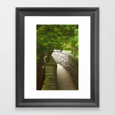 To Where it May Lead Framed Art Print