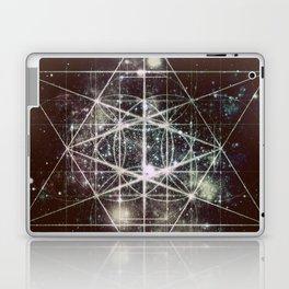 Galaxy sacred Geometry Dark Laptop & iPad Skin
