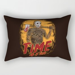 Time for fun Rectangular Pillow