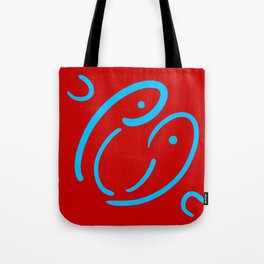 Face to laugh Tote Bag