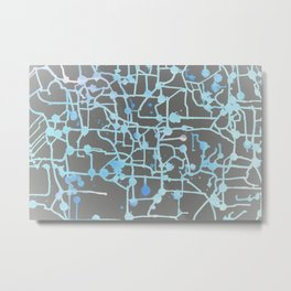Inverted Circuit Breaker Metal Print