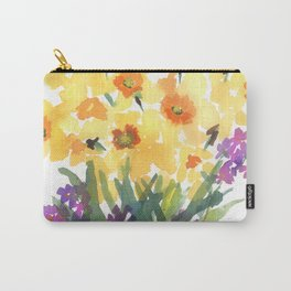 Spring Daffodil Patch Carry-All Pouch