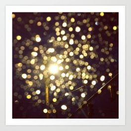Scattered Lights Art Print