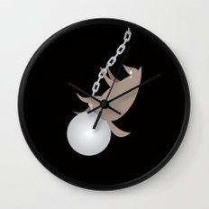 Wreckingwolf Wall Clock