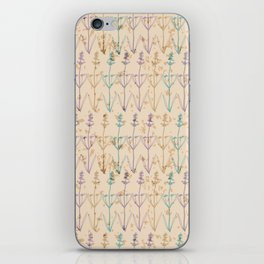 Lavender Herbs iPhone Skin