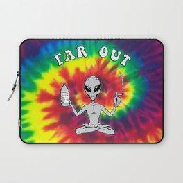 Far Out Alien (Tie Dye) Laptop Sleeve