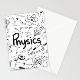 physics Stationery Cards