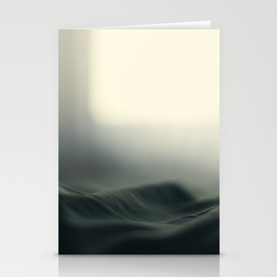 a sea of bed covers ...  Stationery Cards