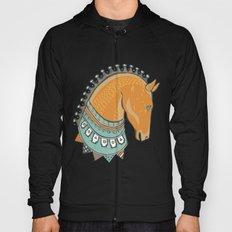 Horse Head - Chocolate Hoody