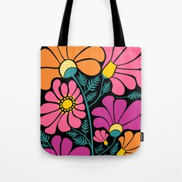 Wildflower Party Tote Bag
