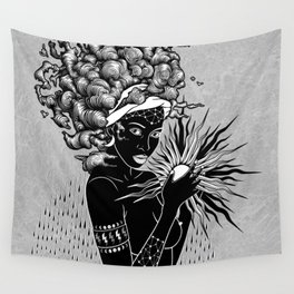 The first woman Wall Tapestry