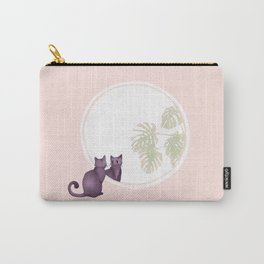 Kitty in the Mirror Carry-All Pouch