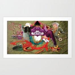 Magic Circus Art Print