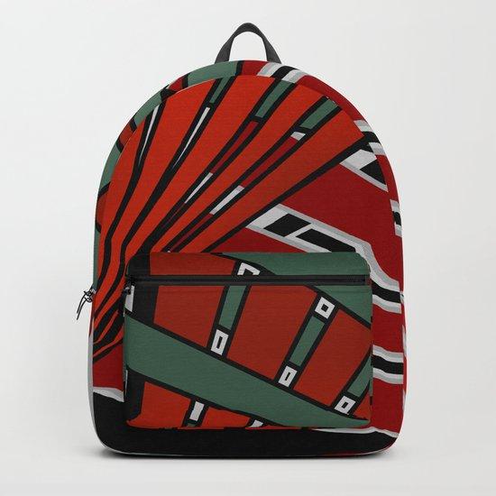 Abstraction , Plexus feelings Backpack