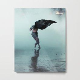 Dance wind Metal Print