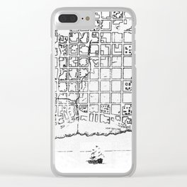 Old Buenos Aires Clear iPhone Case