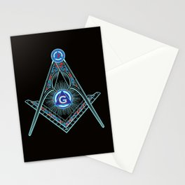 Freemason Symbol Stationery Cards