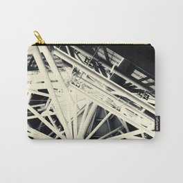 Spider Roof Struts Abstract Carry-All Pouch