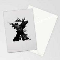 X ANIMALS Stationery Cards