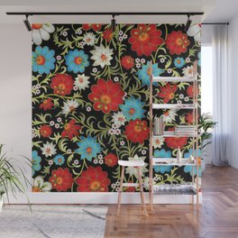 Art Flowers V6 Wall Mural