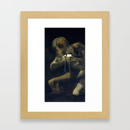 Please Framed Art Print