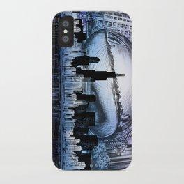 chicago city skyline iPhone Case