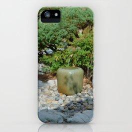 Japanese garden 7 iPhone Case