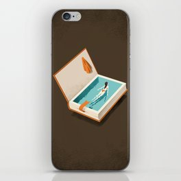 Floating iPhone Skin