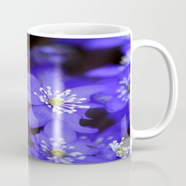 First Spring Flowers in Forest Coffee Mug