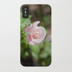 Little Pink Rose iPhone X Slim Case