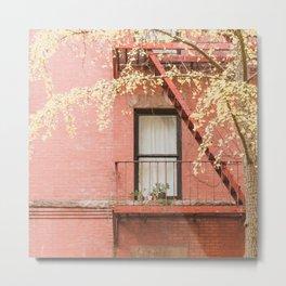 Brooklyn Fall Metal Print