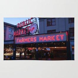 Public Market, Seattle WA Rug