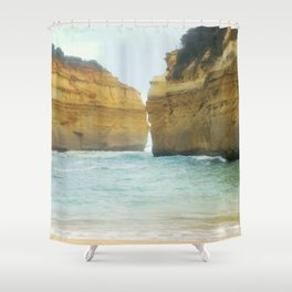 On a Collision Course Shower Curtain