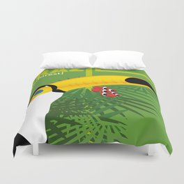 Brazil [rainforest] Duvet Cover