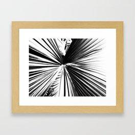 Palm Lines Framed Art Print