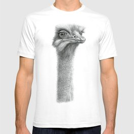 Funny Ostrich SK060 T-shirt