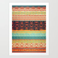 friday Art Prints featuring Friday by Monty