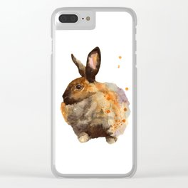 Fluffed Up Clear iPhone Case