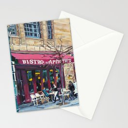 Parc Bistro, Philadelphia, Rittenhouse Square Stationery Cards