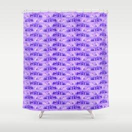 Lila Hasen Shower Curtain