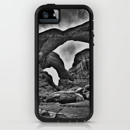 Double Arch - Arches National Park iPhone Case