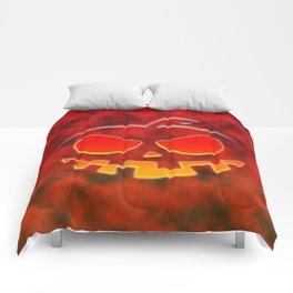 Screaming Pumpkin Comforters