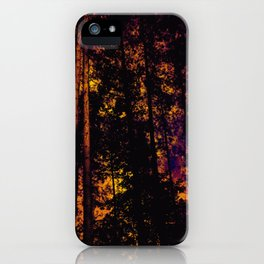 Forest at Twilight iPhone Case