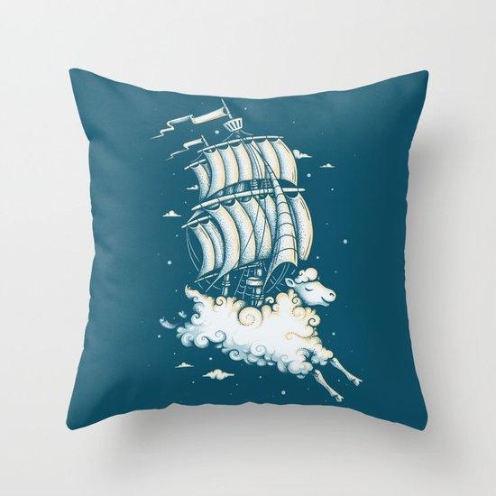 Shipped Away Throw Pillow
