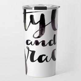 Style and Grace Travel Mug