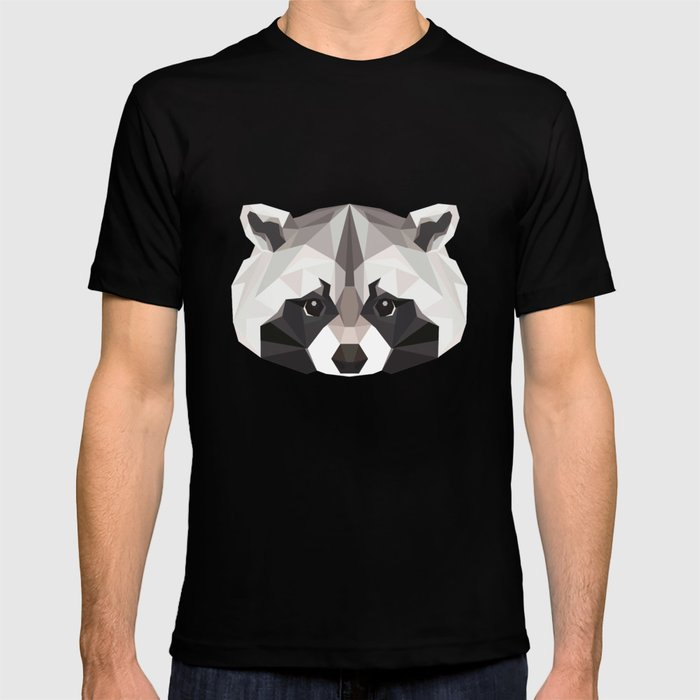 R is for Raccoon T-shirt