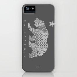 California grey iPhone Case
