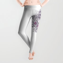 Sexy Woman zombie WITH Flower - KOBI Leggings