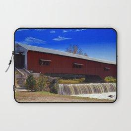 Bridgeton Bridge ~ Rockville, Indiana Laptop Sleeve